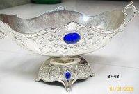 Designer Silver Fruit Bowl