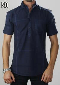 SO DESIGN Mens Casual Shirts