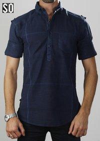 SO DESIGN Mens Casual Shirts