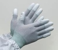 Poly-Urethane Coating On Nylon Glove