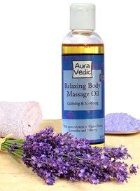 Aurvedic Relaxing Body Massage Oil