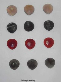 Gemstone Faceted Drops