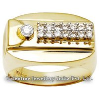 Engagement Jewelry Men Diamond Ring