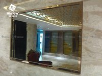 Waterproof Mirror TV For Hotel Bathroom