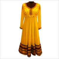 Border Anarkali Suit