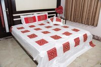Silk Embroidered Bedding Set
