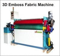 3d Emboss Fabric Machine