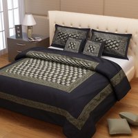 Hati Brocade Silk Bed Cover
