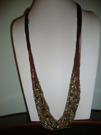 Handcrafted Glass Beaded Fashion Necklace