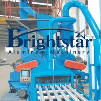 Aluminium Profile Sand Blasting Machine