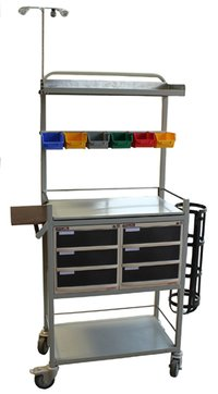 Traumacare Care Crash Cart (Chc-Cr9002)