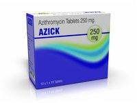 Azithromycin Tablets USP 250mg (AZICK-250)
