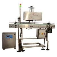 Air Water Cooled Induction Sealing Machine With Bottle Conveyor