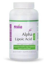 Zenith Nutrition Alpha Lipoic Acid 100Mg - 240 Capsules