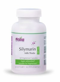 Zenith Nutritions Silymarin Milk Thistle Standardized - 400mg 60 Capsules