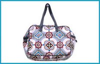 Tile Print Travel Bag