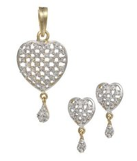Amazing Heart Ad Pendant Set