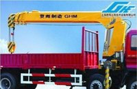 Telescoping Boom Truck Mounted Cranes