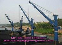 120T Wire Luffing Marine Crane