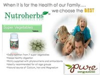 Herbal Vegetable Supplements