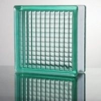 Light Green Decorative Glass Block