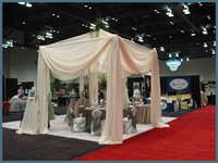 Pipe Drape Curtain For Decoration