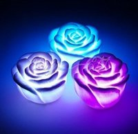 Led Rose Grow Light Love Candle Gift Lights
