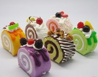 Fruit Cake Fridge Magnet