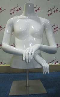 FRP Half-Body Female Mannequin