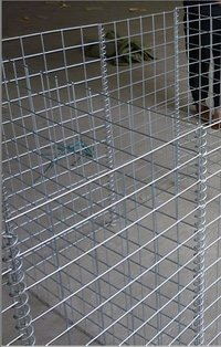 Hesco Wire Mesh Wall