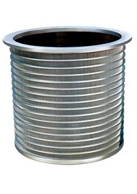 Basket Or Drum For Various Pressure Screen