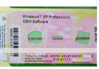 Professional XP OEM Software serial Windows Product Key Sticker Label 