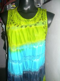 Tie And Dye Women Dress