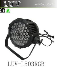 54x3w RGB 3 in 1 Fullcolor Outdoor IP65 LED PAR