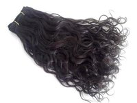 Remy Wavy Machine Weft Silky Hair