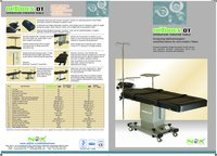 Motorized Mobile Operation Table