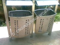 Road Side Steel Bins