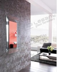 Oblong Glass Mirror Modern Design (J011)