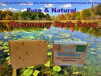 Rosemary Pure And Natural Handmade Bath Soap