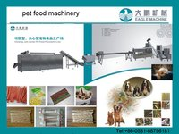 Dog Chewing Food/Hot Dog Food Snack Processing Machine