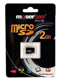 Mobile 2GB Micro SD Card