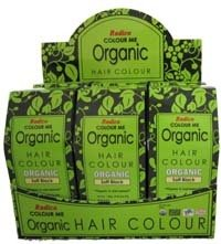 Organic Hair Color Dye Soft Black