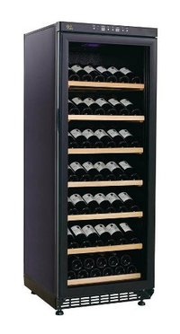 320/83 Bottles Wine Cooler Refrigerator With Show Shelves