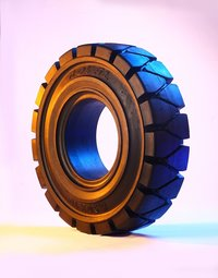 Superelastic Tyres / Solid Resilient Tyres