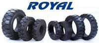 Heavy Duty Solid Industrial Tyres