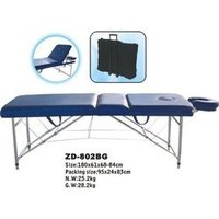 Blue Foldable Metal Bed