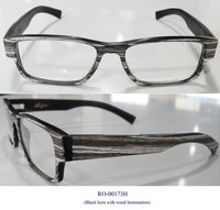Bufflao Horn Optical Frames With Wood