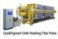 Dye And Pigment Cloth Washing Filter Press