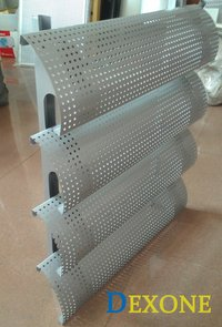 DEXONE Aluminium Perforated Sun Louver