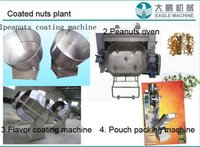 Coated Peanuts Roasting Oven Machines